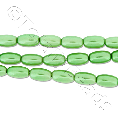 Glass Pearl Rice - Fresh Green