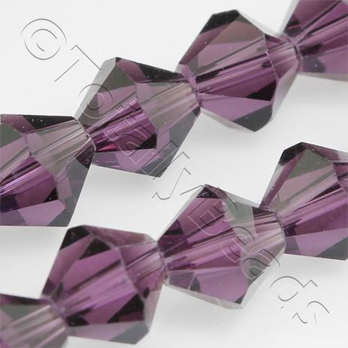 Crystal Bicone 8mm - Purple