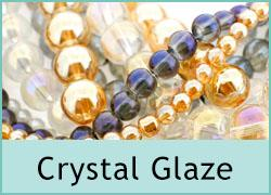 Crystal Glaze Glass Beads