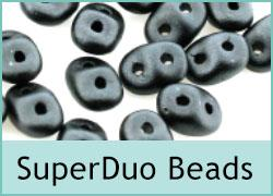 SuperDuo Twin Hole Beads