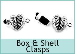 Box and Shell Clasps