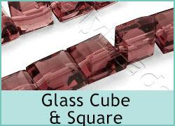 Glass Cube & Square Shapes