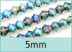5mm Crystal Bicones