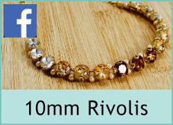 10mm Rivolies with setting - 20th April