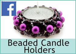 Beaded Candle Holder - 9th April