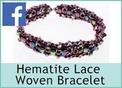 Woven Hematite Bracelet - 29th June