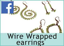 Wire Wrapped Earrings - 11th August