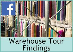 Warehouse Tour - Findings - 18th September