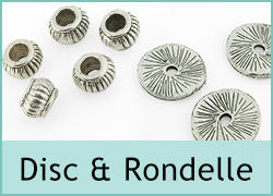 Discs and Rondelle Beads