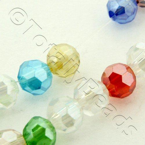 Crystal Round 4mm - Mixed Colours