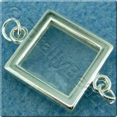 Photo Frame - Square 17mm - Silver