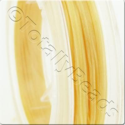 Elastic Flat Gold - 0.5mm - 10m