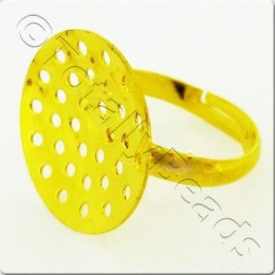 Bead Ring Gold Plate