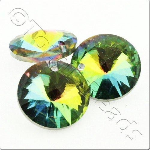 Crystal Rivoli - 16mm Rainbow with Hole