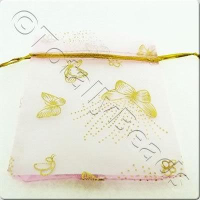 Gift Bag - Pink and Butterflies