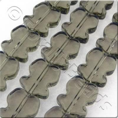 Glass Tulip 10mm Grey