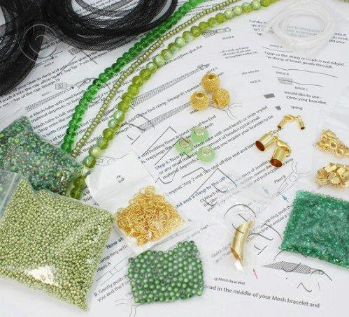 Mesh Starter Kit - Gold/Green plus MESH