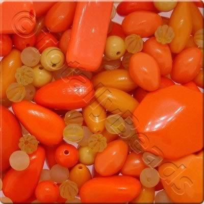 Acrylic Opaque Mix - Orange