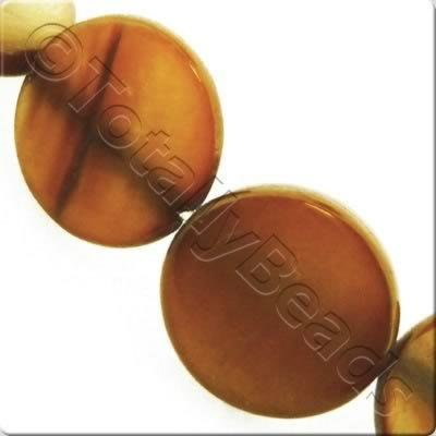 Shell Disc 12mm - Copper