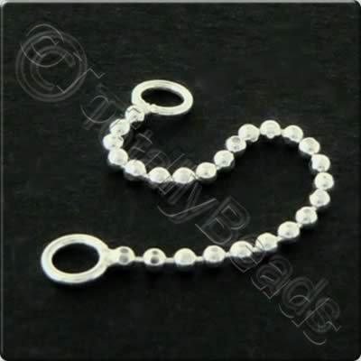 Sterling Silver - Ball Chain - 3cm