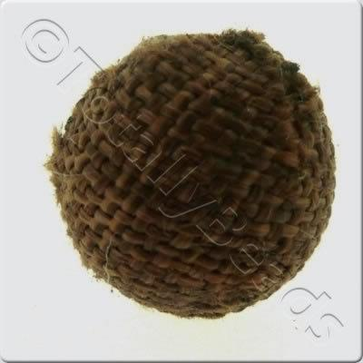 Weaved Hatch Bead - Brown