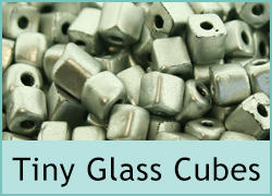 Tiny Glass Cubes