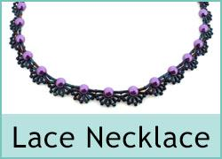 Beaded Lace Necklace Kit