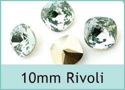 10mm Square Rivoli