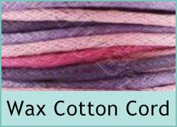 Wax Cotton Cord