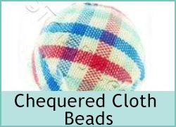 Chequered Cloth Beads