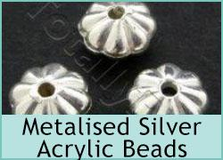 Metalised Silver Acrylic