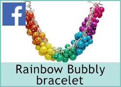 Rainbow Bubbly bracelet - 6th May