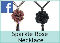Sparkle Rose Necklace - 4th July