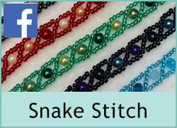Single Strand Snake Stitch Jewellery - 31st August