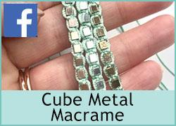 Cube Metal Macrame - 22nd September