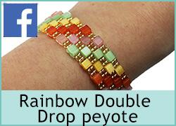 Rainbow Double Drop Peyote - 29th September
