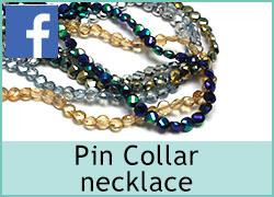 Pin Collar necklace - 12th October