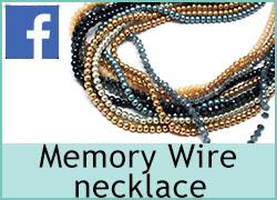 Memory Wire necklace - 19th October