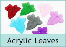 Acrylic Leaves