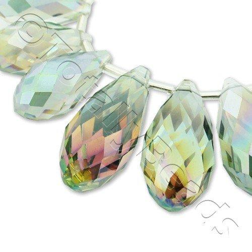 Crystal Drop Set 3 Sizes - Clear Rainbow