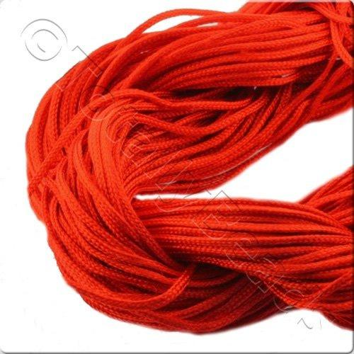 Rattail Cord 1mm Red - 10m