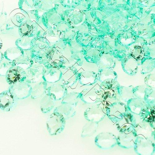 Resin Crystals Large 4mm - Sea Foam Green