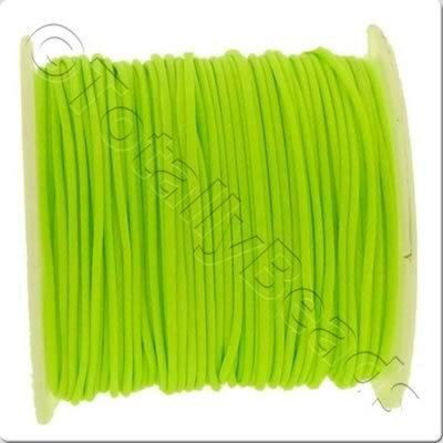 Wax Cord 1mm - Neon Green