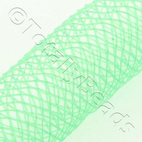 Nylon Mesh Tubing 8mm Fresh Green - 3m pck