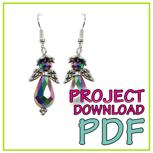 Angel Earrings - Download Instructions