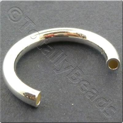 Ring Tube 24mm - Silver Plated