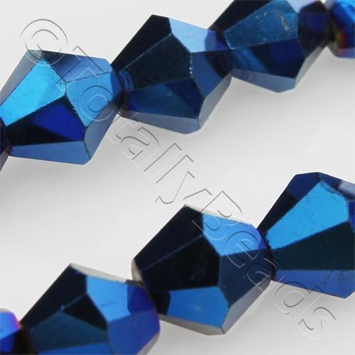 Crystal Bicone 8mm - Blue Iris