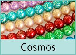 Cosmos Glass Beads