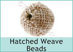 Hatched Weaved Bead
