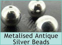 Metalised Antique Silver